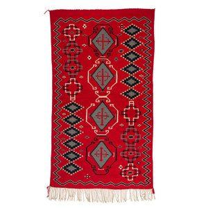 "Beautiful Navajo Germantown blanket for Sale: Measures 98"" X 55 1/2"" Beautiful design!"