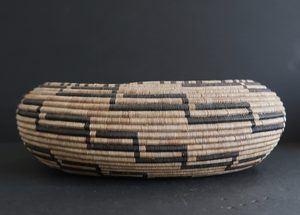 Oval Shaped Pomo Basket