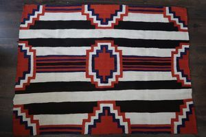 Navajo 3rd Phase Chief's Blanket Circa 1885 -1895