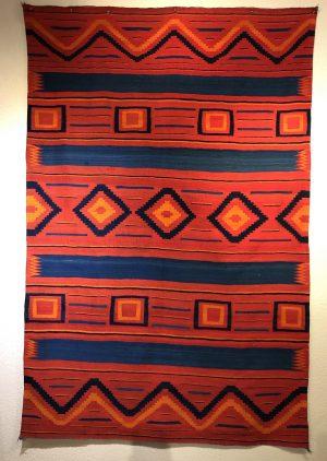 Circa 1880s Lorimer Fred Harvey Classic Wearing Blanket